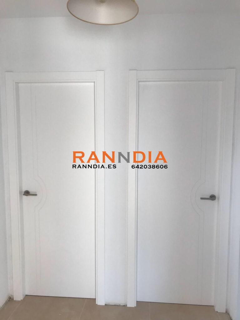Puertas en Nerja de madera
